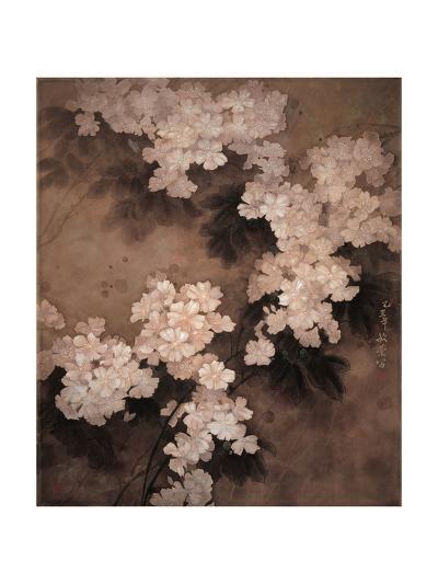 White Flowers-Minrong Wu-Giclee Print