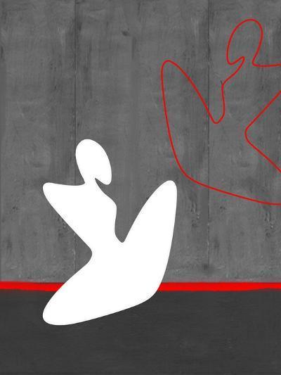 White Girl-NaxArt-Art Print