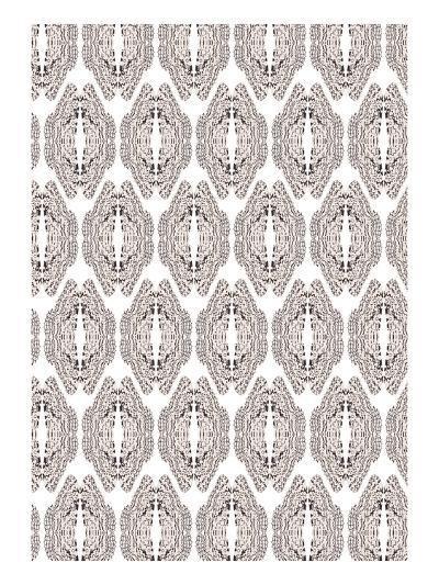 White & Graphite-Belen Mena-Giclee Print
