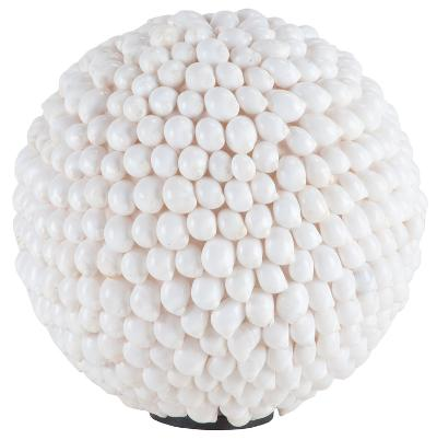 White Hermit Shell Ball--Home Accessories