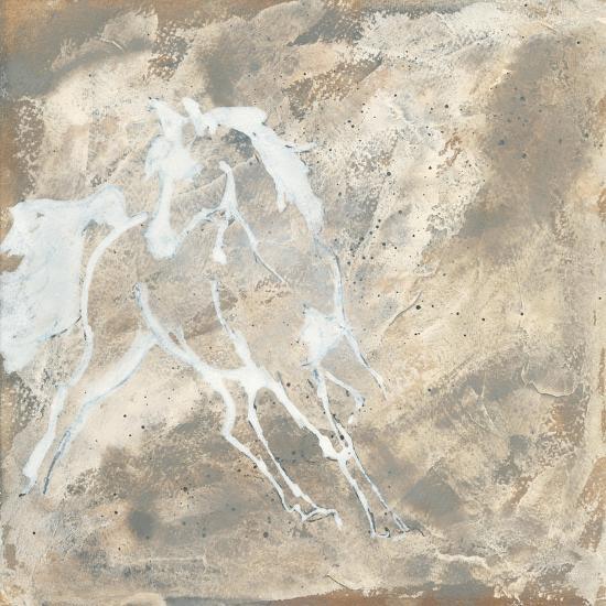 White Horse I-Chris Paschke-Art Print