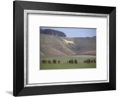 White House at Cherhill, Wiltshire, England, 20th century-CM Dixon-Framed Photographic Print