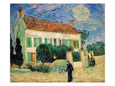 White House at Night-Vincent van Gogh-Giclee Print