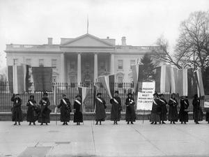 White House: Suffragettes