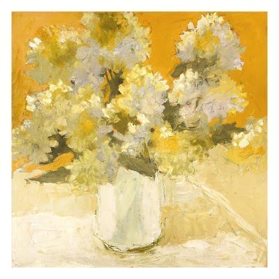 White Hydrangea Bouquet-Dale Payson-Premium Giclee Print