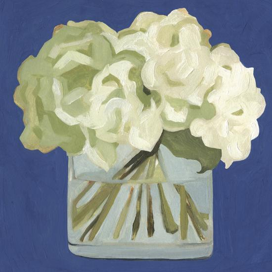 White Hydrangeas II-Emma Scarvey-Art Print