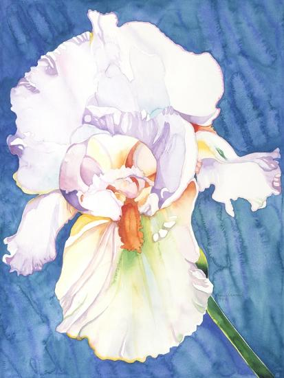 White Iris-Mary Russel-Giclee Print