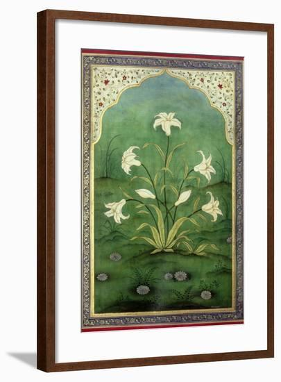 White Lilies-Mark Briscoe-Framed Giclee Print