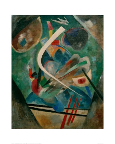 White Line, 1920-Wassily Kandinsky-Giclee Print