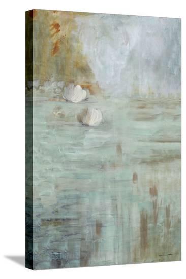 White Lotus-Karen Lorena Parker-Stretched Canvas Print