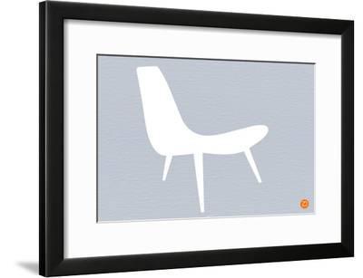 White Lounger-NaxArt-Framed Art Print