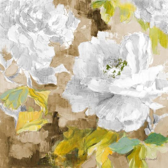White Modern Peonies I-Lanie Loreth-Premium Giclee Print