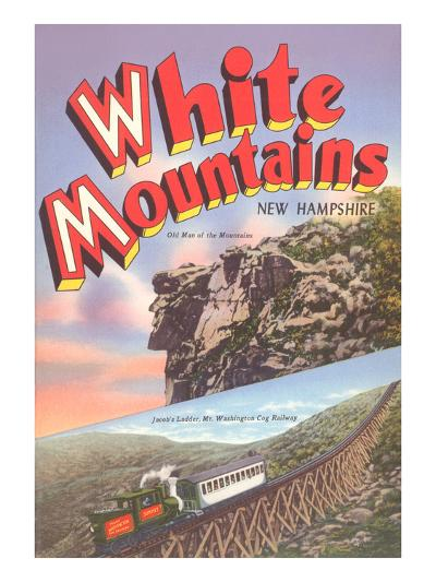 White Mountains, New Hampshire--Art Print