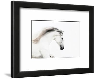 White on White-Melanie Snowhite-Framed Art Print