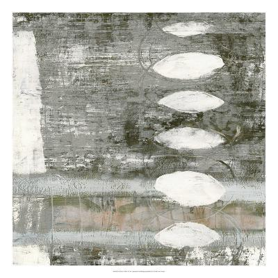 White Orbs I-Jennifer Goldberger-Premium Giclee Print