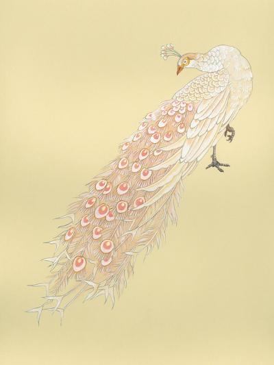White Peacock-Haruyo Morita-Art Print
