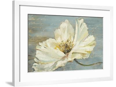 White Peony-Patricia Pinto-Framed Premium Giclee Print