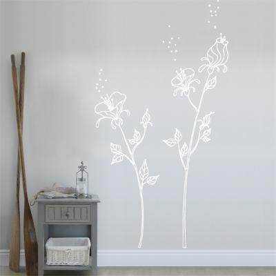 White Pollen Wall Decal--Wall Decal