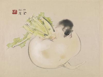 White Radish--Giclee Print