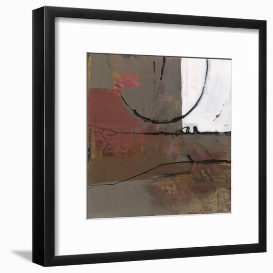 White Resonance I-Leslie Bernsen-Framed Giclee Print