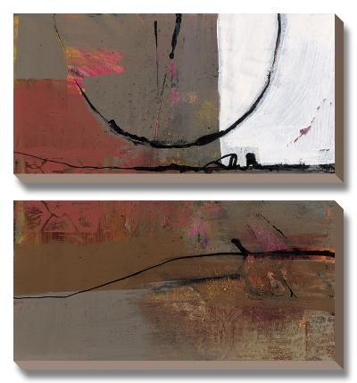 White Resonance I-Leslie Bernsen-Canvas Art Set
