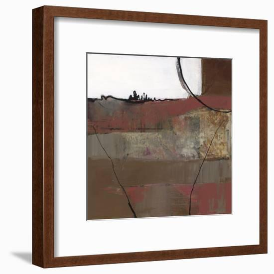 White Resonance II-Leslie Bernsen-Framed Giclee Print