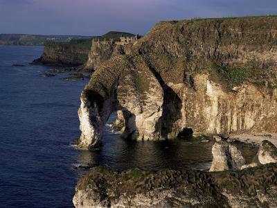 White Rocks and Wishing Arch, County Antrim, Northern Ireland, United Kingdom-Roy Rainford-Photographic Print