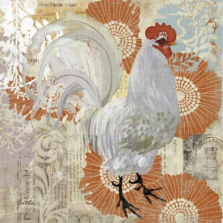 white-rooster