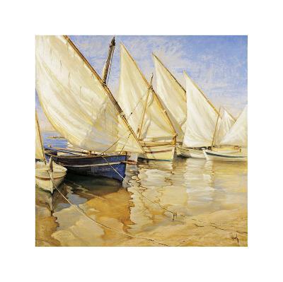 White Sails I-Jaume Laporta-Giclee Print