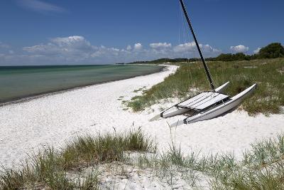 White Sand Beach and Sand Dunes, Skanor Falsterbo, Falsterbo Peninsula, Skane, South Sweden, Sweden-Stuart Black-Photographic Print