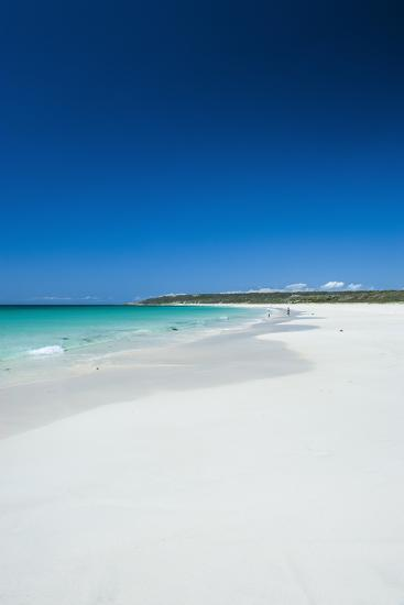 White Sand Beach and Turquoise Waters-Michael-Photographic Print