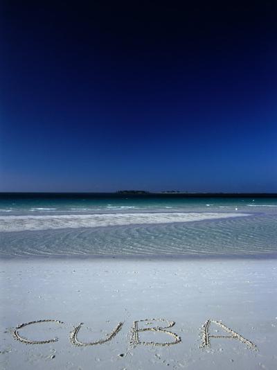 White Sand Beach at Cayo Coco Keys, Ciego De Avila, Cuba-Alfredo Maiquez-Photographic Print