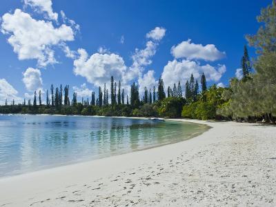 White Sand Beach, Bay de Kanumera, Ile Des Pins, New Caledonia, Melanesia, South Pacific, Pacific-Michael Runkel-Photographic Print