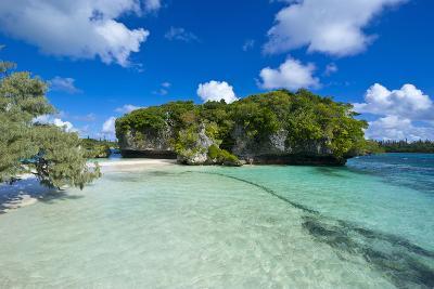White Sand Beach, Bay De Kanumera, Ile Des Pins, New Caledonia, Melanesia, South Pacific-Michael Runkel-Photographic Print