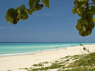White Sand Beach of Playa Del Este, Cuba, West Indies, Caribbean, Central America--Photographic Print