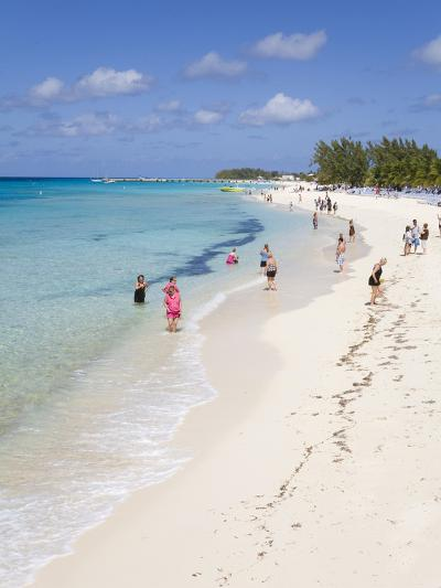 White Sands Beach, Grand Turk Island, Turks and Caicos Islands, West Indies, Caribbean-Richard Cummins-Photographic Print