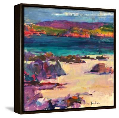 White Sands, Iona, 2011-Peter Graham-Framed Canvas Print