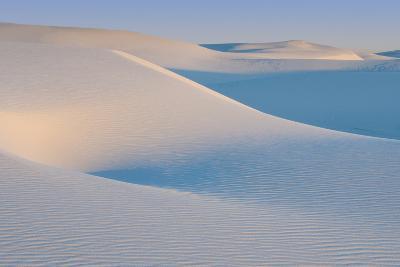 White Sands Natl Mon at Sunrise-Russell Burden-Photographic Print