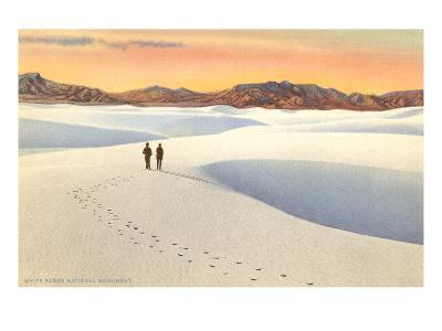 White Sands, New Mexico--Art Print