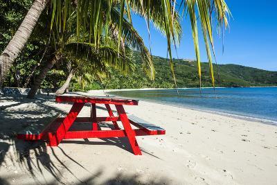 White Sandy Beach, Naviti, Yasawa, Fiji, South Pacific-Michael Runkel-Photographic Print