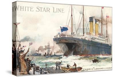 White Star Line, Cedric Leaving Liverpool