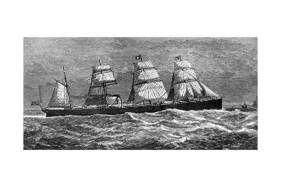 White Star Line's Steamer 'Oceanic, 1871--Giclee Print