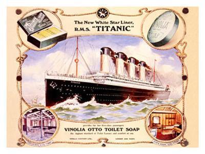 White Star Liner, The Titanic--Giclee Print