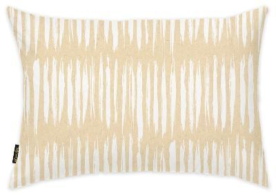 White Stripes Pattern Throw Pillow--Home Accessories