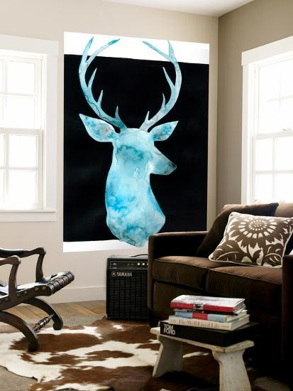 White Tail Bust I-Grace Popp-Wall Mural