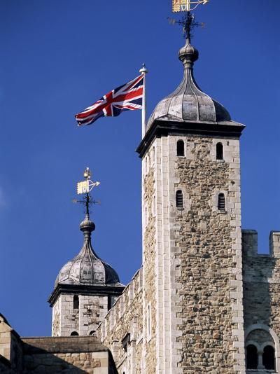 White Tower, Tower of London, Unesco World Heritage Site, London, England, United Kingdom-John Miller-Photographic Print