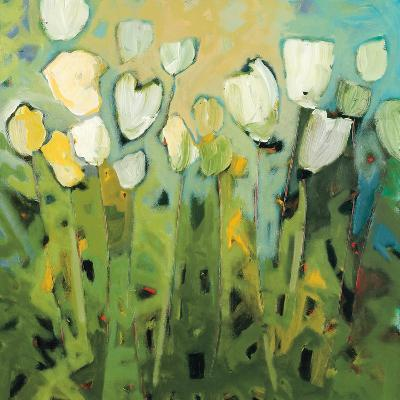 White Tulips I-Jennifer Harwood-Art Print
