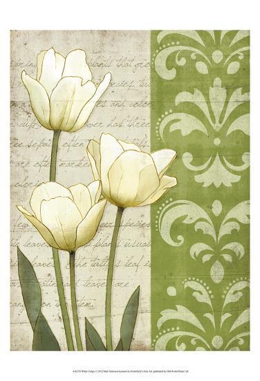 White Tulips-matt patterson-Art Print