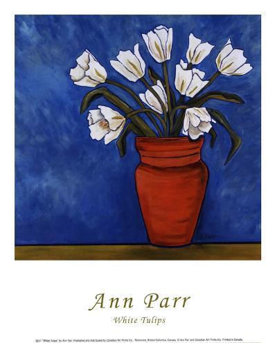 White Tulips-Ann Parr-Art Print