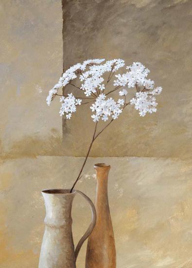 White Umbellas I-Isabel Martinez-Art Print